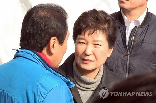 民调:朴槿惠支持率4% 继续徘徊谷底