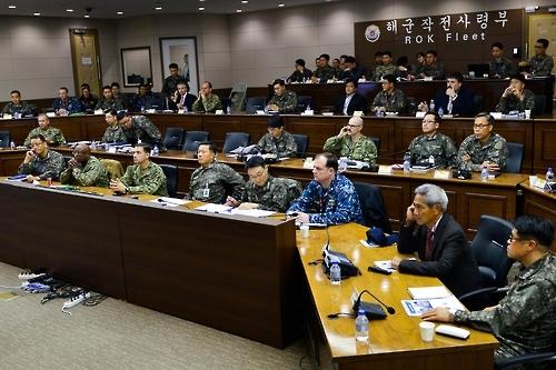 韩美举行反潜战会议讨论朝潜射导弹应对方案
