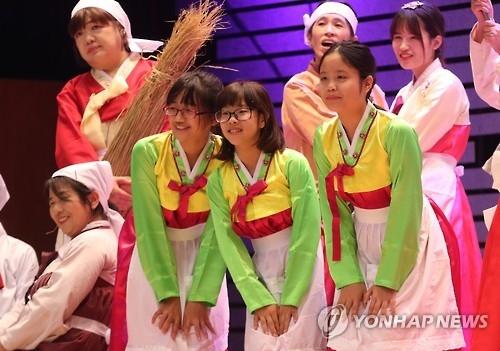 韩来自国际婚姻家庭的中小学生10年间增10倍