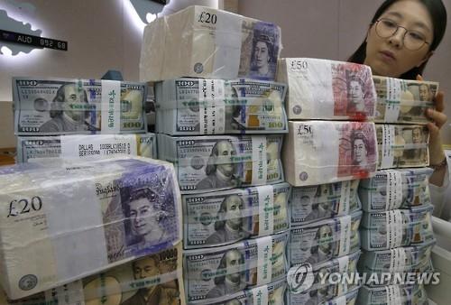 韩11月外汇储备近3720亿美元 连续两月减少