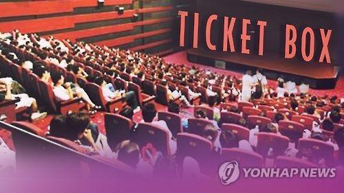 韩国今年累计观影人数即将突破2亿