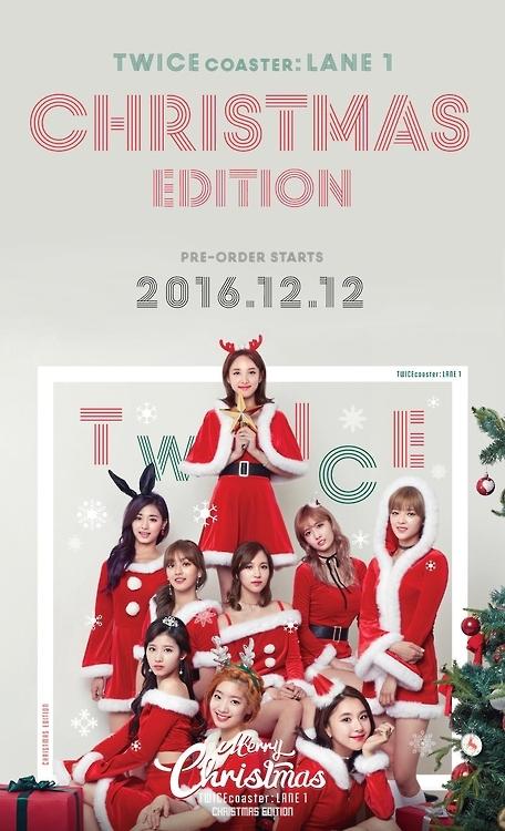 TWICE圣诞版迷你三辑19日发售