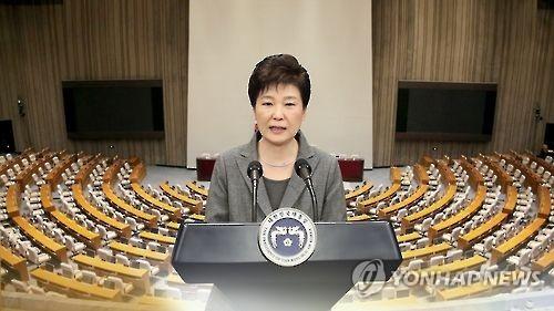 民调:朴槿惠支持率时隔8周升至两位数