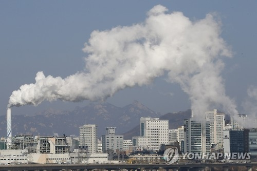 韩力争2030年前减排2.19亿吨温室气体