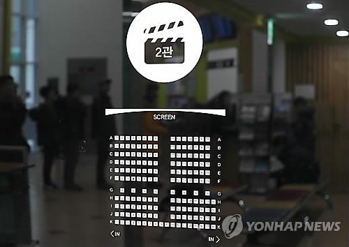 韩国全年累计观影人数连续四年突破2亿