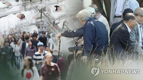 统计:韩国人口2031年迎峰值 劳动适龄人口明年起减少