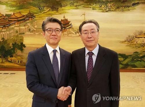 六方会谈韩中团长会晤 商定切实履行安理会新涉朝决议