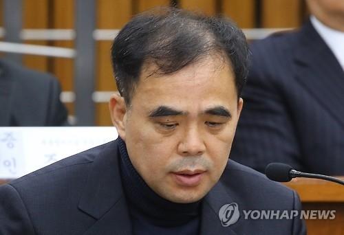 资料图片:文化体育观光部前次官金钟(韩联社)