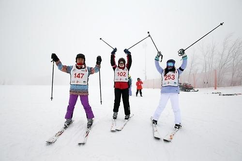 韩滑雪场成东南亚游客冬季旅游首选