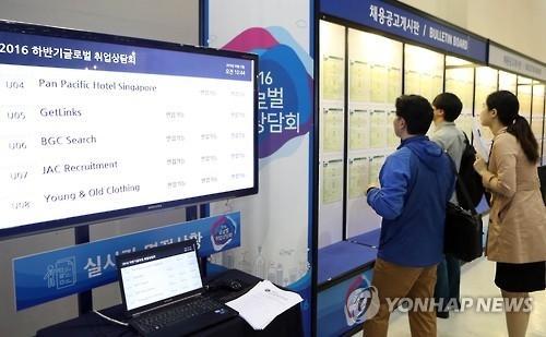 韩国求职难助推在海外就业青年人数大增
