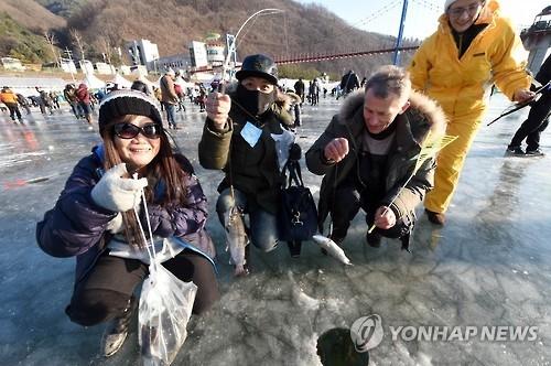2017华川山鳟鱼庆典开幕在即 外国游客掀预约热潮
