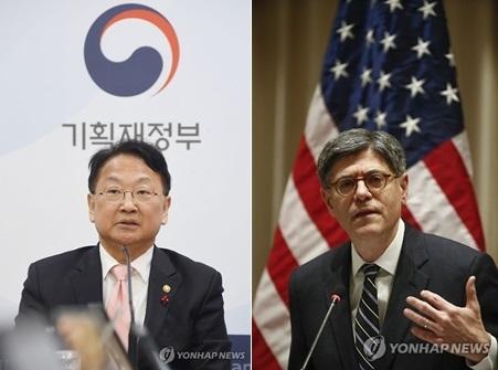 韩美财长通电话重申继续保持经济合作