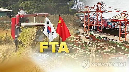 韩中FTA生效一周年 韩对外贸易环境恶化