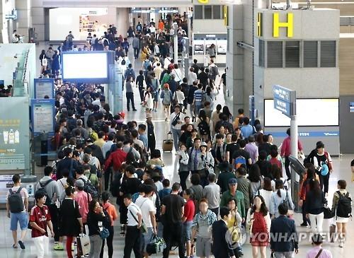 2016年韩国航空客运量突破1亿人次大关