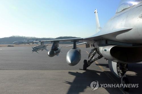 韩军完成F-16战机改造 远射深钻空地兼顾