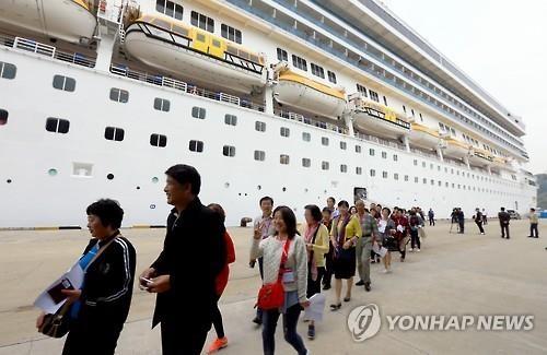 2016年乘邮轮访韩外国游客有望翻番