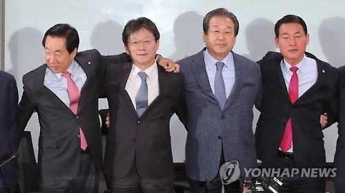 """韩执政党31名""""非朴派""""议员宣布27日退党"""