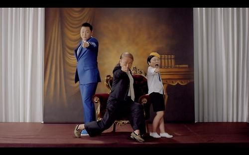 鸟叔《DADDY》获选YouTube年度最热门韩国MV