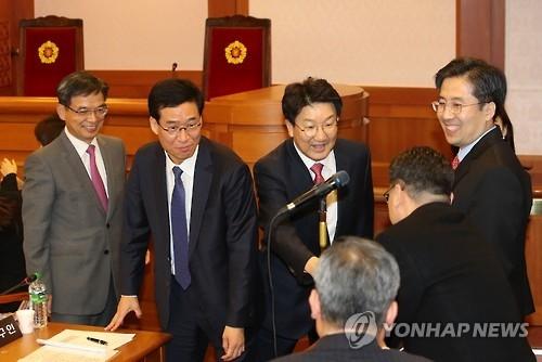 总统朴槿惠诉讼代理人(韩联社)