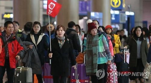 韩旅游局:萨德入韩致上月来韩中国游客仅增1.8%