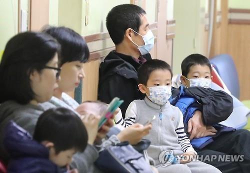 韩国流感蔓延 中小学生成高发人群