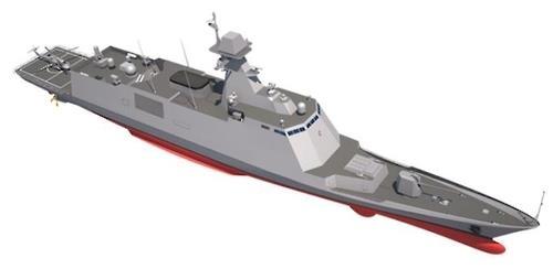 韩军工部门着手建造3千吨级护卫舰