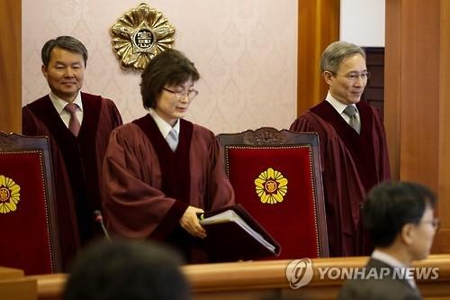韩宪法法院下周加速审理总统弹劾案