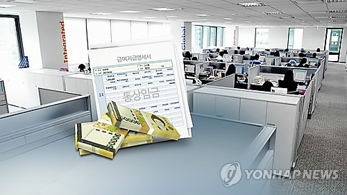 韩求职者放低身价 理想年薪五年减两万