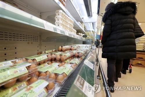 韩政府决定从明日起以零关税进口鸡蛋