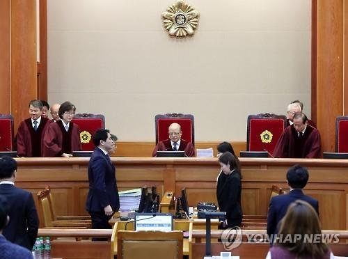 韩总统弹劾案第二次法庭辩论:朴槿惠方面否认受贿指控