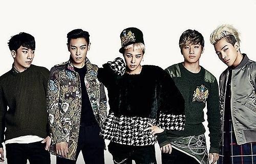 BIGBANG入围福布斯30岁以下30位名人榜
