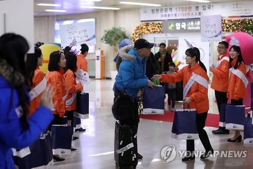 韩新年接待外国游客目标因中方限韩措施恐难实现