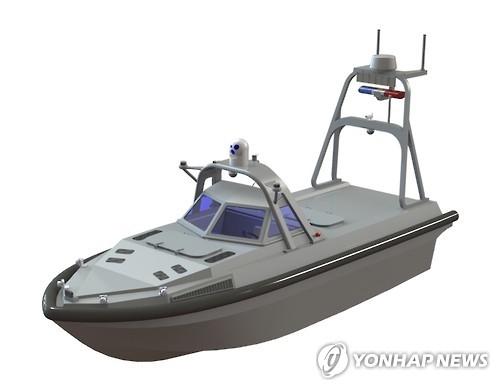 无人机水面艇示意图