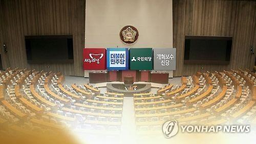 韩政党支持率调查:最大在野党40%执政党12%