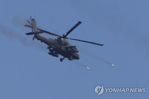 美国将在韩增加部署24架阿帕奇直升机