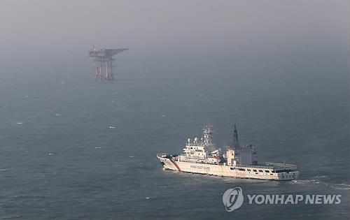 韩政府:去年中国公务船进入离於岛海域次数大增