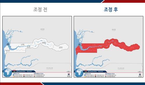 韩政府针对非洲冈比亚发布特别旅游预警