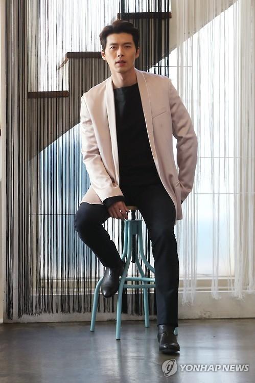 演员玄彬(韩联社)