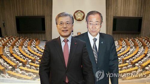 韩下届大选民调:文在寅31%创新高 潘基文20%居第二