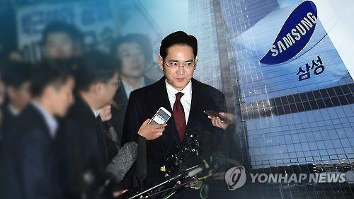韩独检组或16日决定是否申请逮捕三星李在镕