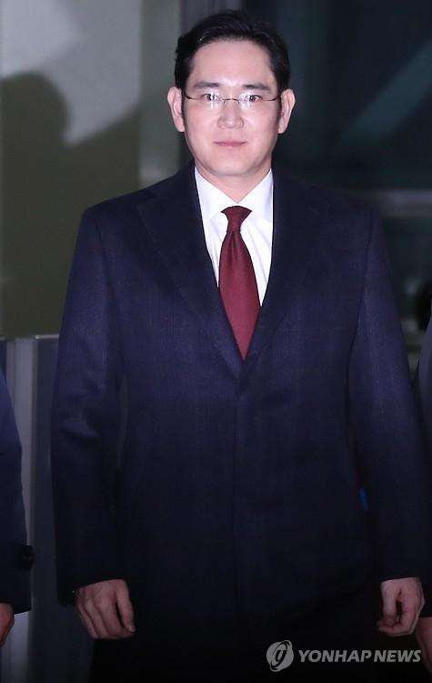 简讯:韩独检组提请批捕三星电子副会长李在镕