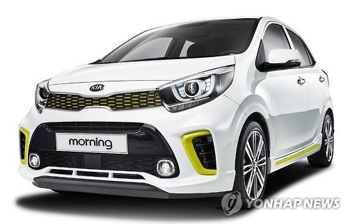 起亚第三代微型车morning面市 预订量达4千辆