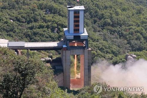 朝媒威胁试射洲际导弹拒美双重标准