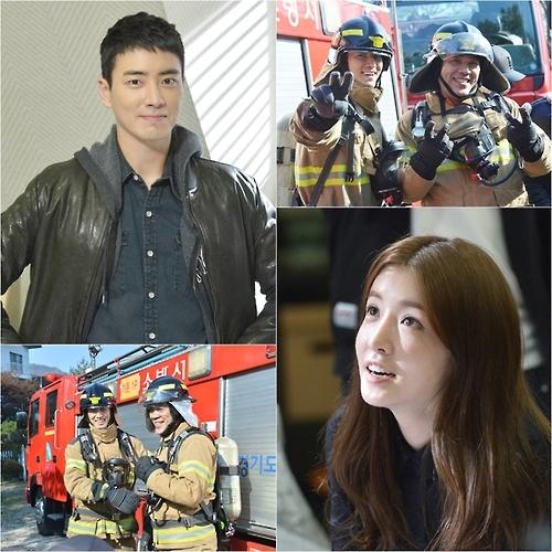 《赤身的消防员》花絮照(官网图片)