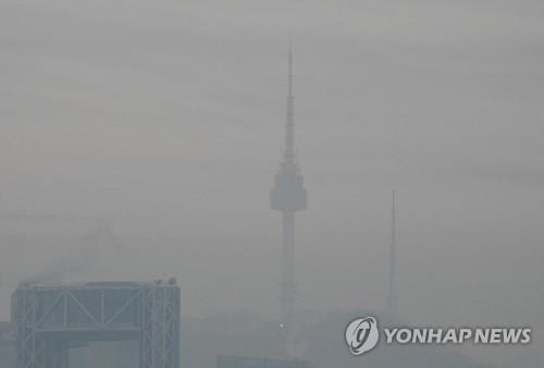 韩连日遭遇雾霾侵袭 中国雾霾随风流入半岛