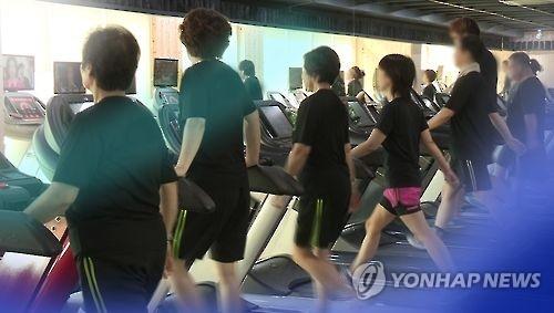 调查:六成韩国人每周锻炼一次以上 同比增3.5%