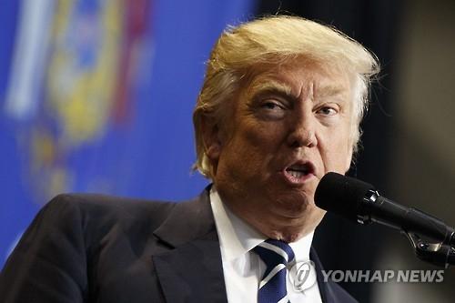 美国新任总统特朗普 (韩联社)