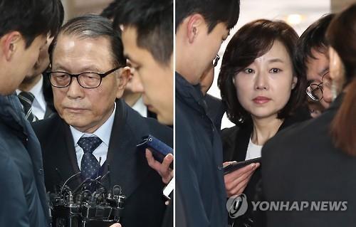 涉文艺界黑名单案韩前幕僚长和文体部长官被捕
