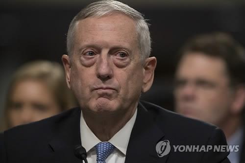 美国防长提名人詹姆斯·马蒂斯(韩联社)
