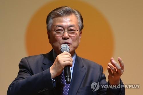 韩下届大选民调:文在寅逼近30%居首 潘基文跌破20%